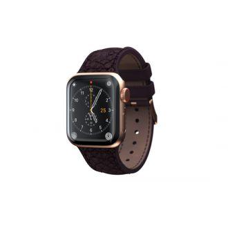 Apple Watch strap 44mm Eldur Aubergine