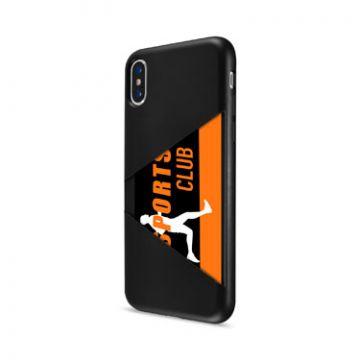 TPU Card Case iPhone X/XS Noir