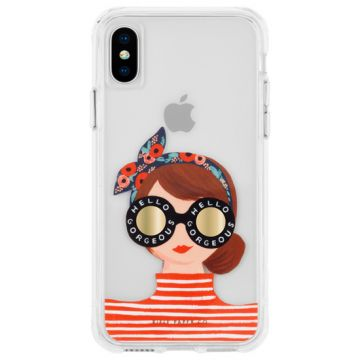Coque IP XS Max Rifle Paper Gorgeous Girl