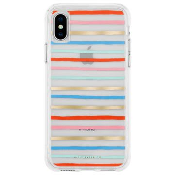 Coque IP XS Max Rifle Paper Happy Stripes