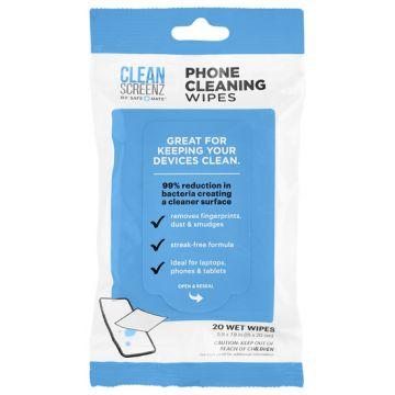 Pack de 20 lingettes Cleanscreenz