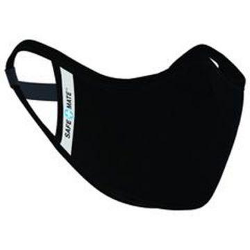 Washable Cloth Mask L/XL Black