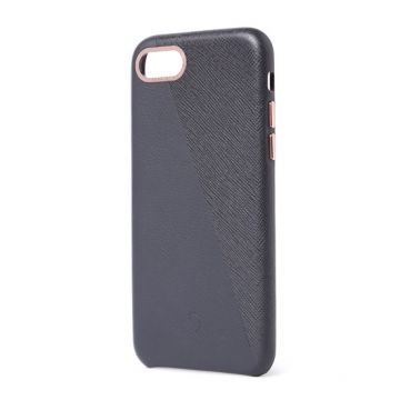 Dual Leather iPhone 7/8/SE (2020) Anthracite/Rose Doré