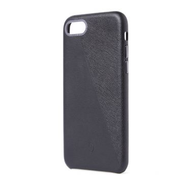 Dual Leather iPhone 7/8/SE (2020) Noir/Space Grey