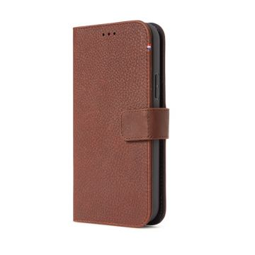 Folio Leather iPhone 12 Mini Brown