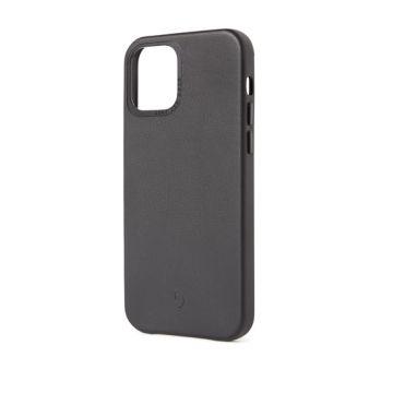 Coque en cuir iPhone 12 & iPhone 12 Pro Noir