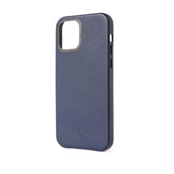 Coque en cuir iPhone 12 & iPhone 12 Pro Bleu