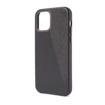 Dual Leather iPhone 12 & iPhone 12 Pro Noir/Space Grey