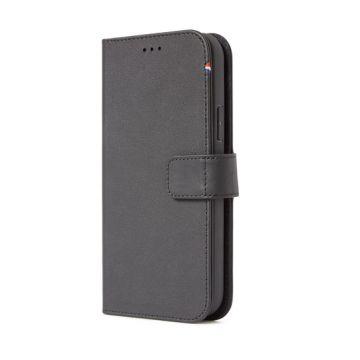 Folio Leather iPhone 12 & 12 Pro Black (MagSafe)