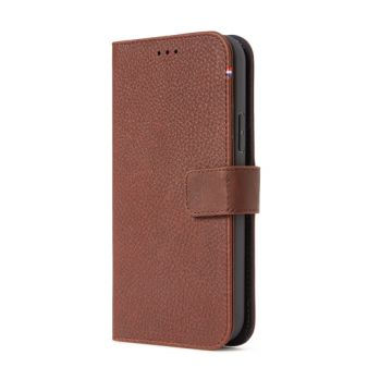 Folio Leather iPhone 12 & 12 Pro Brown (MagSafe)