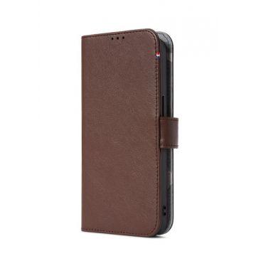 Folio Leather iPhone 13 Brown