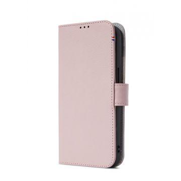 Folio Leather iPhone 13 Pink
