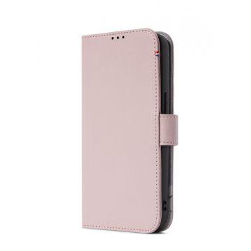 Folio en cuir iPhone 13 Pro Rose