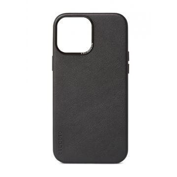 Coque en cuir iPhone 13 Pro Max Noir