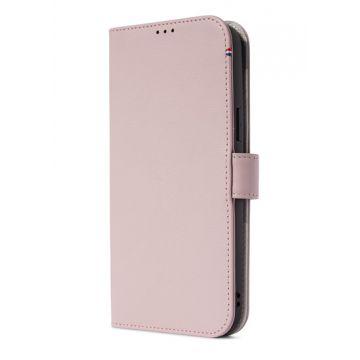 Folio en cuir iPhone 13 Pro Max Rose