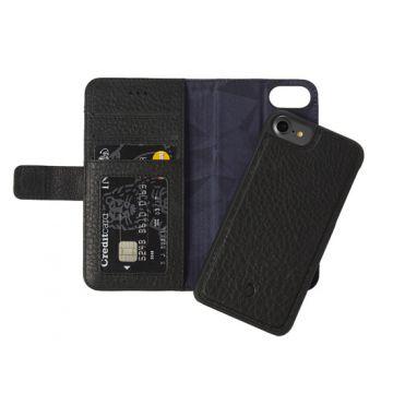 Folio détachable iPhone 6/6s/7/8 Noir