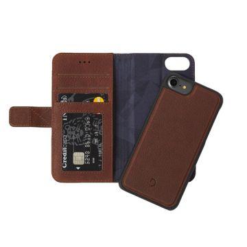 Folio détachable iPhone 6/6s/7/8 Brown