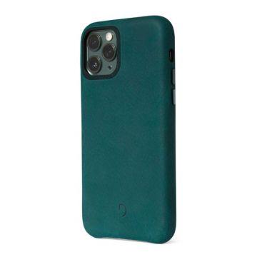 Coque en cuir iP 11 Pro Max Vert