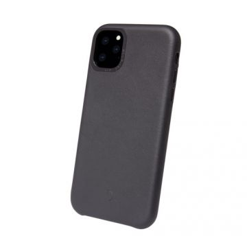 Coque en cuir iP 11 Pro Max Noir