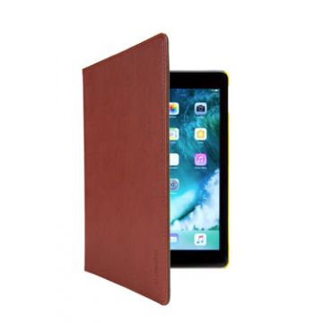 """Easy Click Cover iPad 9,7"""" Brown/Yellow"""