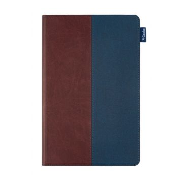 Easy-Click 2.0 Cover ColorTwist Samsung Tab A7 10.4 (2020) Marron/Bleu