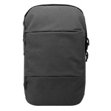 """City Backpack MacBook Pro 17"""" Noir Chiné"""