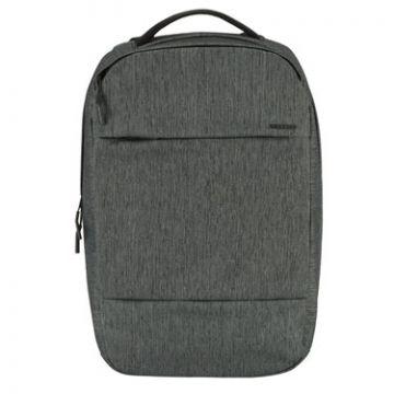 "Backpack City Compact Macbook 15"" Heather Black"