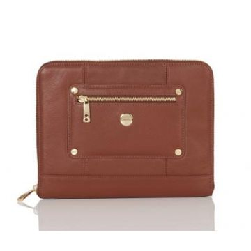 Tablet Zip Sleeve Cognac