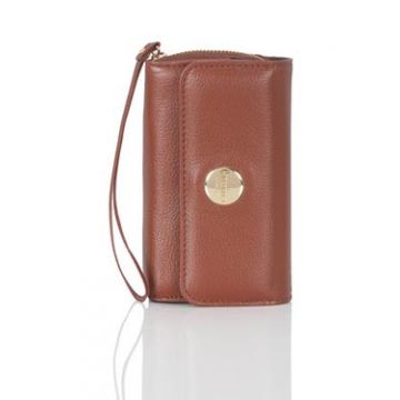 iPhone 4S Purse Cognac
