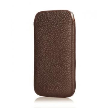 Galaxy S4 Slim Sleeve Brown