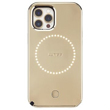 Halo iPhone 12 & 12 Pro Gold Mirror