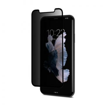IonGlass Privacy iPhone 11 Pro/X/XS Bords noirs