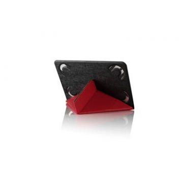 """2Face Tablette 7-8"""" Noir et rouge"""