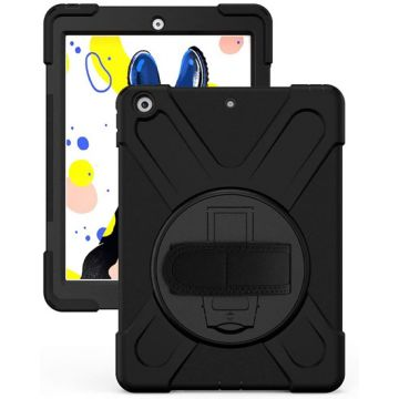 Coque Securit Rotative iPad 10.2 (2019/20/21 - 7/8/9th gen) Noir Polybag
