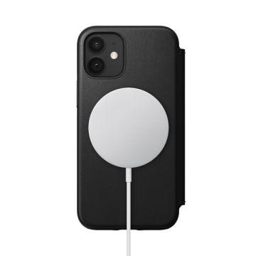 Rugged Folio iPhone 12 Mini Black (MagSafe)