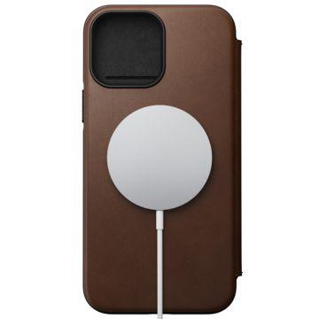 Modern Folio iPhone 13 Pro Max (MagSafe) Marron