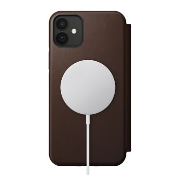 Rugged Folio iPhone 12 & iPhone 12 Pro Brown (MagSafe)