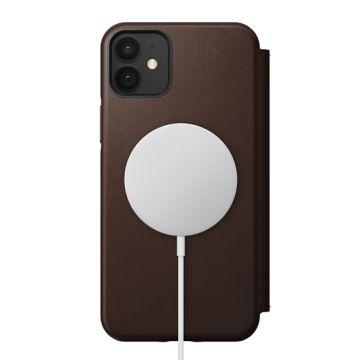 Rugged Folio iPhone 12 & iPhone 12 Pro Marron (MagSafe)