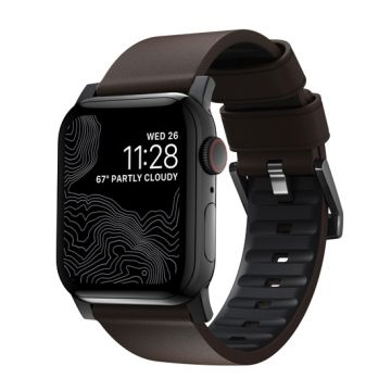 Bracelet Active Pro Apple Watch 42/44mm Noir/Marron