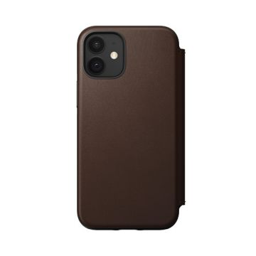 Rugged Folio iPhone 12 Mini Brown