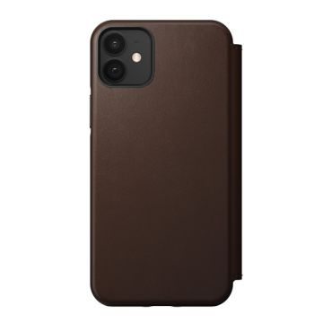 Rugged Folio iPhone 12 & iPhone 12 Pro Marron