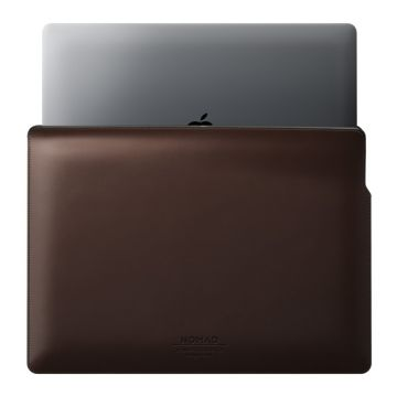 "Housse cuir MacBook Pro 16"" Marron"