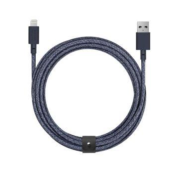 Belt USB to Lightning cable (3m) Indigo