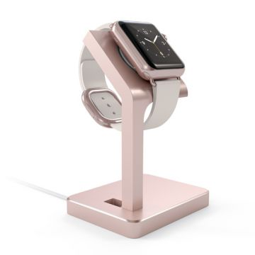 Charging stand for Apple Watch Rose Gold