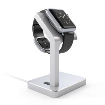 Charging stand for Apple Watch Silver