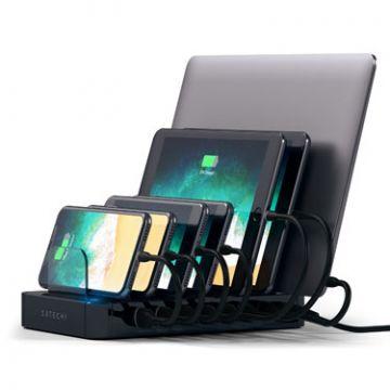 Station de charge USB Black