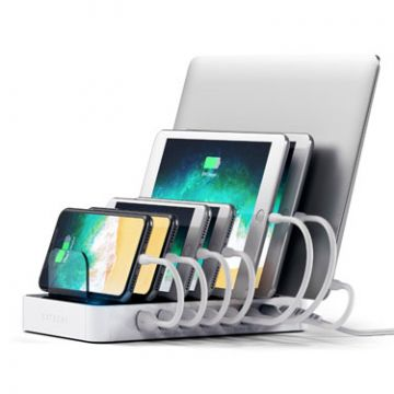 USB Charging station dock White