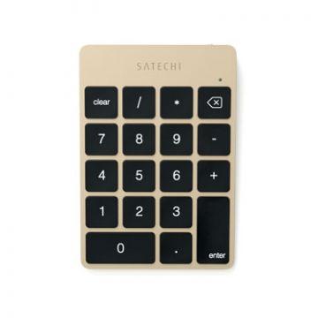 Slim Wireless Keypad Gold