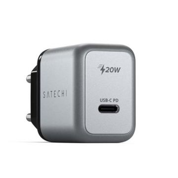 20W USB-C PD Wall Charger Gray
