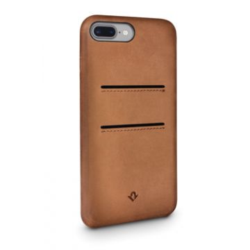 Relaxed Leather iPhone 7Plus/8Plus Cognac